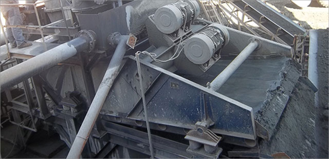 Coal slurry dewatering equipment