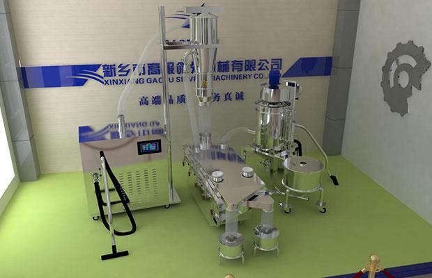 Formula granule sifter machine